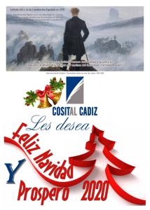 felicitación navidad y año nuevo 2020